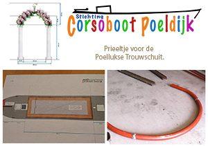 Corsoboot Poeldijk 2016 - Prieeltje lassen